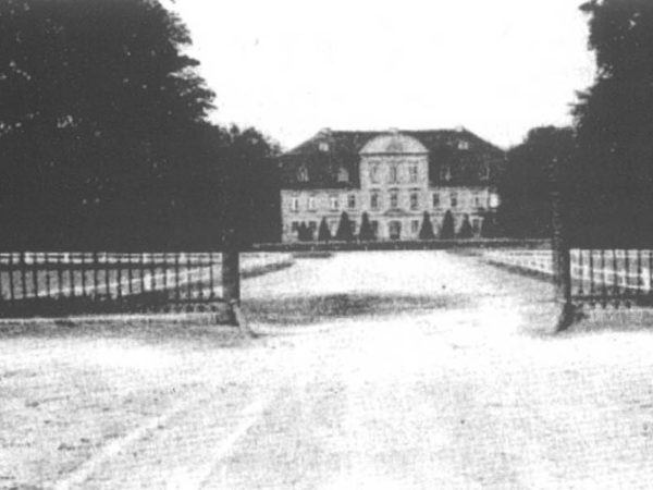 Schloss Kummerow around 1935 - Front view (Source: 750 years Kummerow - Festschrift, 2005)