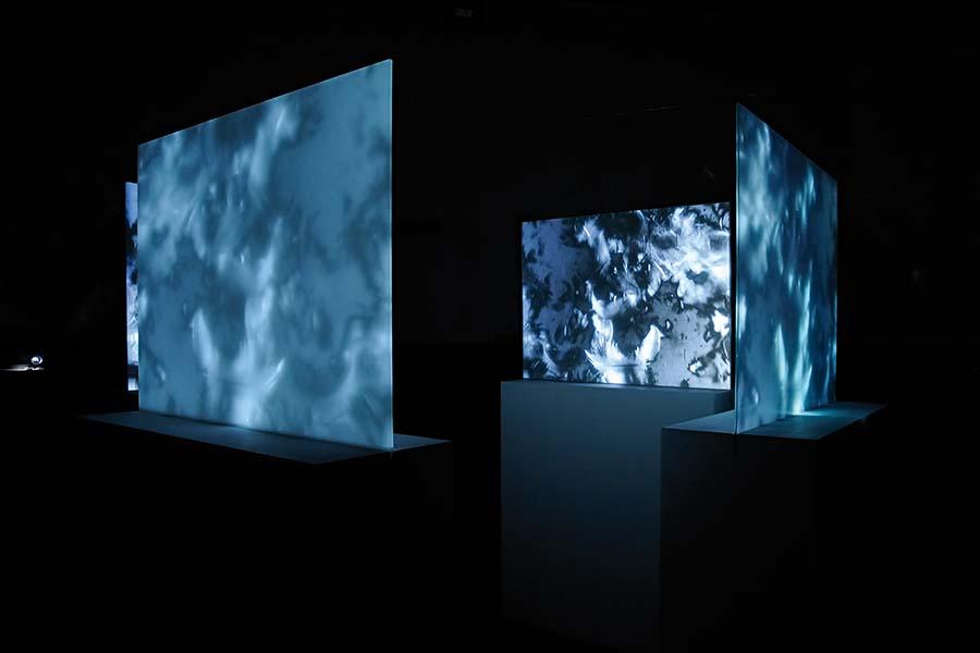 Ausstellung Michael Soltau Touch down 2019