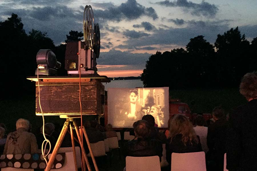 Wanderkino 2019 mit Stummfilmen und Live Musik