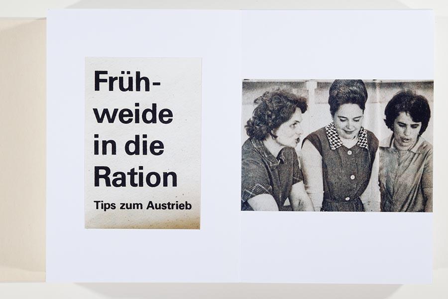 Ulrich Wüst Ausstellung | Frühweide in die Ration