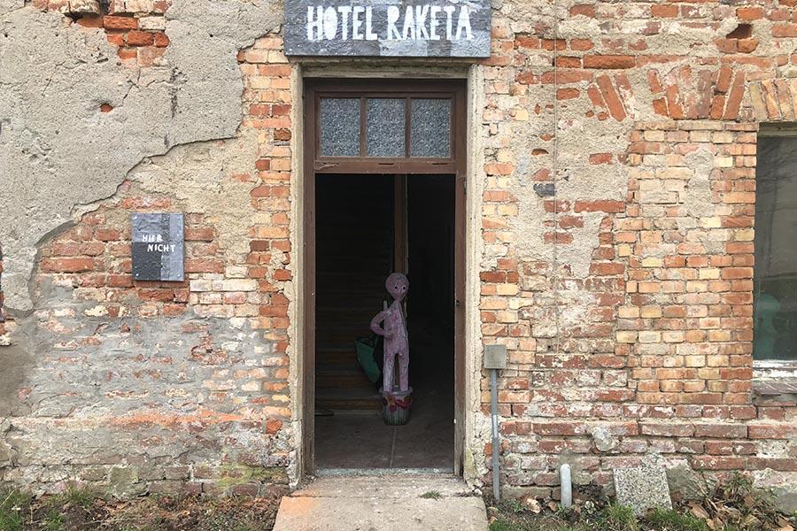 Dauerausstellung Hotel Raketa