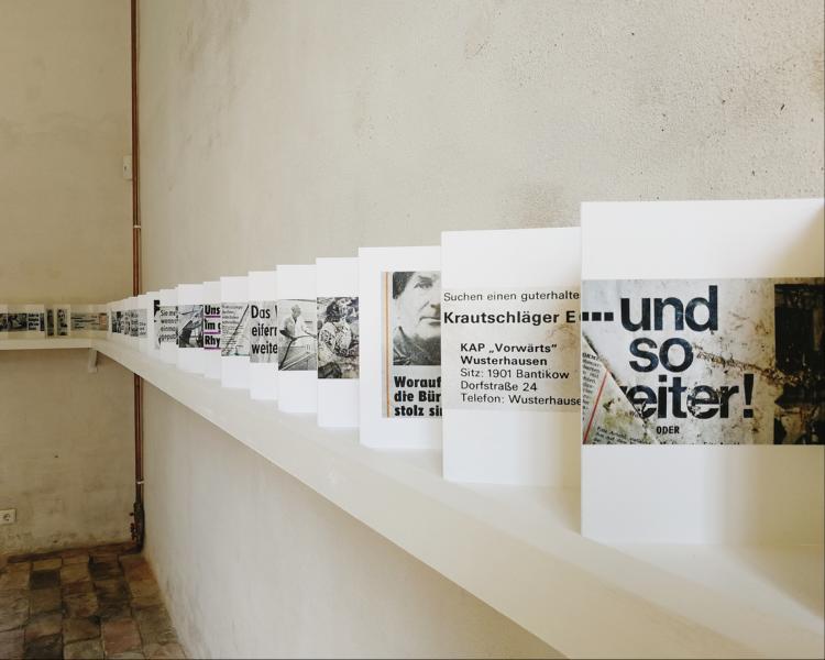 Sonderausstellung Flachland von Ulrich Wüst