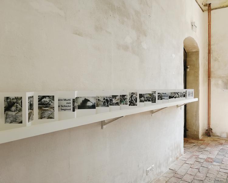 Ausstellung von Ulrich Wüst auf Schloss Kummerow